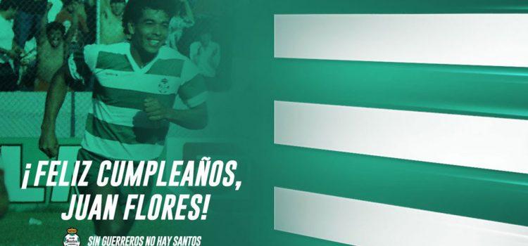 Santos de México felicita a Juan Flores por su cumpleaños