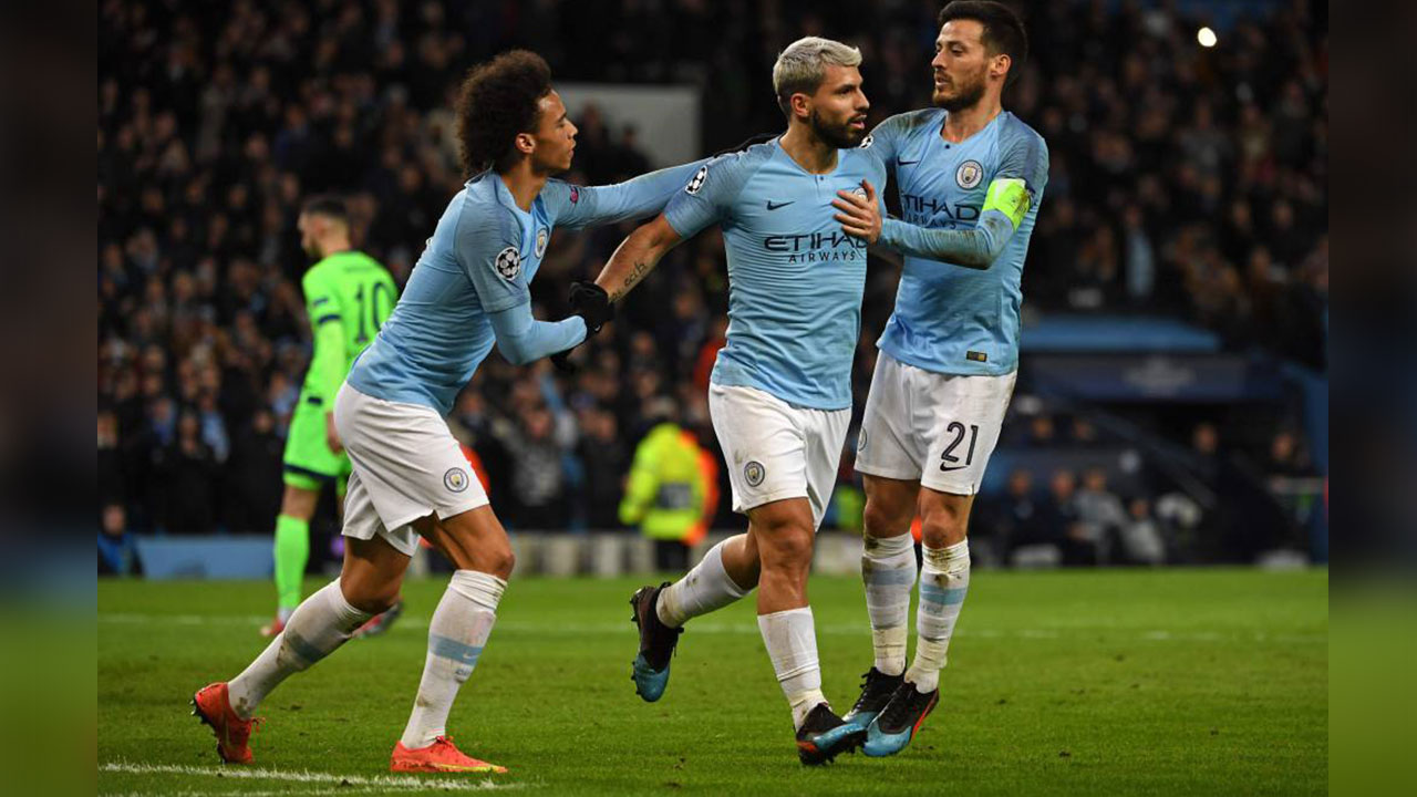 Manchester City humilla al Schalke y avanza a cuartos de la Champions