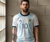 Así es la nueva camiseta que usará Argentina en la Copa América 2019