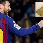 ¡Un lujo! Messi y Rakitic presumen celulares de oro de 24 kilates