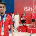 David Orellana ganó la primera medalla para Honduras en los Juegos Mundiales de Olimpiadas Especiales