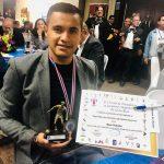 Roger Rojas es premiado como mejor goleador de Costa Rica