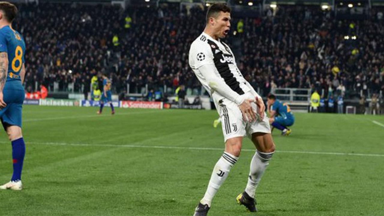 Cristiano Ronaldo puede recibir dura sanción de la UEFA por imitar gesto de Simeone