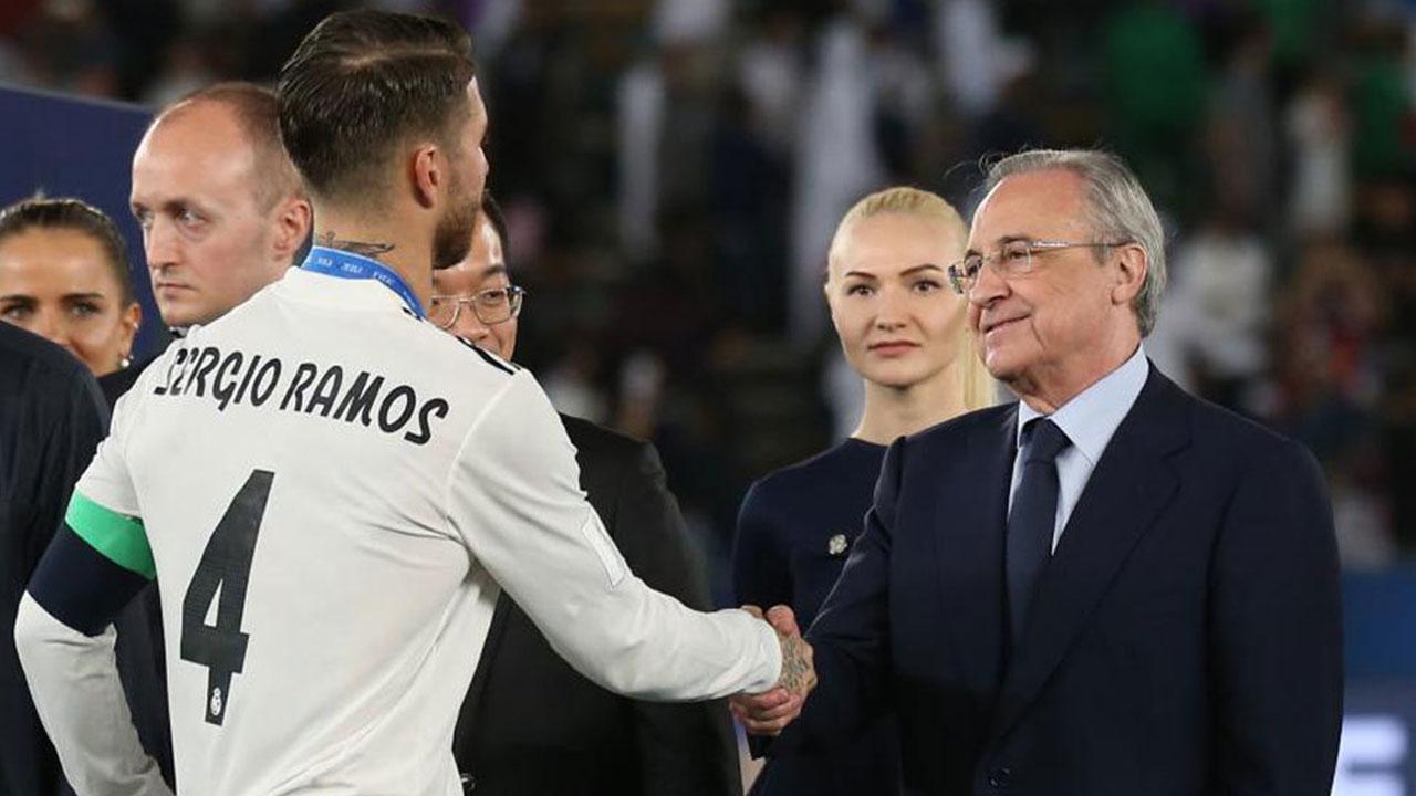 ¡Vuelve la calma a Madrid! Ramos y Florentino hacen las paces