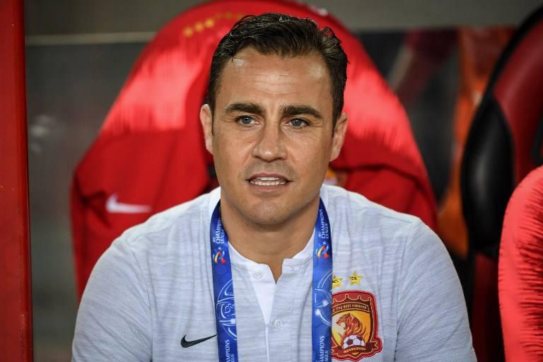Fabio Cannavaro es el nuevo técnico de la selección de China