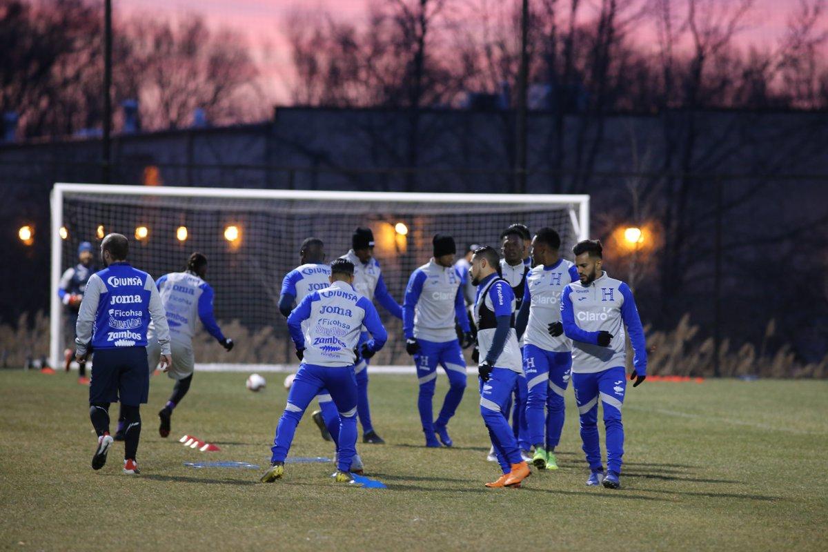Honduras entrenó por última vez previo al partido con Ecuador