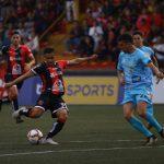 Gol de Roger Rojas salva de la derrota al Alajuelense