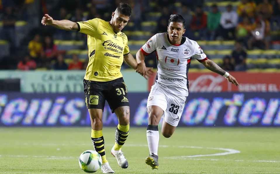 Chirinos fue titular en el empate de Lobos ante Morelia