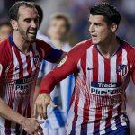 Un doblete de Morata le da la victoria al Atlético de Madrid