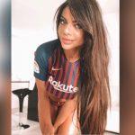 Suzy Cortez demuestra una vez más su admiración por Messi con foto sensual de su trasero
