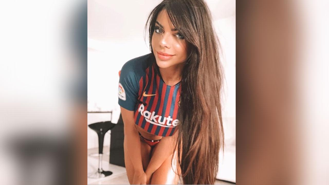 Suzy Cortez deja clara su admiración por Messi con foto sensual de su trasero