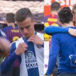 ¡Increíble! Espanyol suspende a un jugador por pedirle la camiseta de Messi