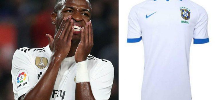 Vinicius Júnior presentará en Brasil la nueva camiseta de la selección