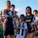 Cristiano Ronaldo presume que el fútbol se hereda (VÍDEO)