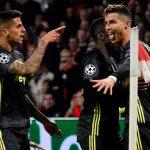 Juventus y Cristiano empatan en Ámsterdam con el Ajax dejando todo para la vuelta