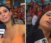Susto en Brasil: campeona olímpica de voley se desmaya en plena entrevista (VÍDEO)