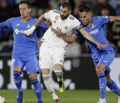 Real Madrid empata 0-0 con Getafe