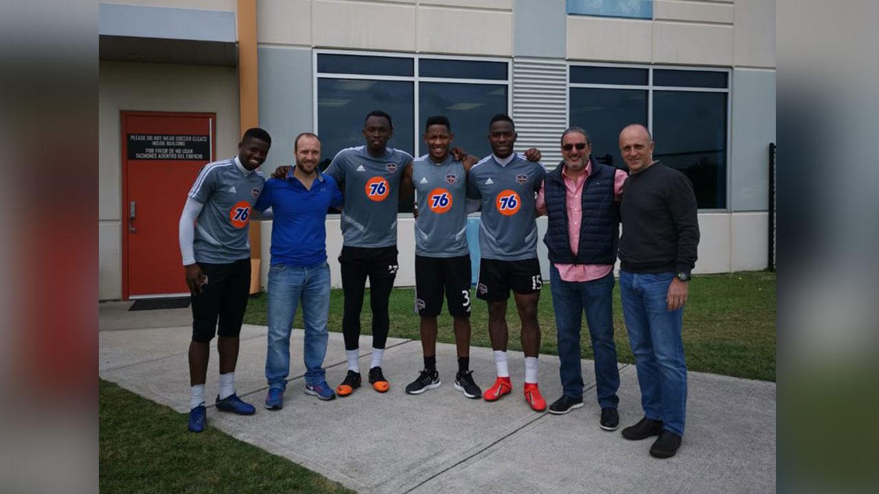 Hondureños del Houston Dynamo reciben la visita de Fabián Coito