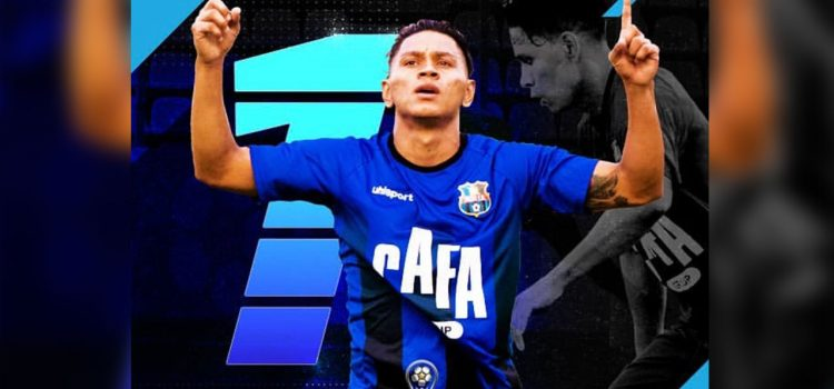 Zulia de Venezuela destaca al hondureño Bryan Moya como su goleador