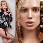 Ella es Kira Winona, la modelo alemana que David Neres conquistó con un simple mensaje en Instagram