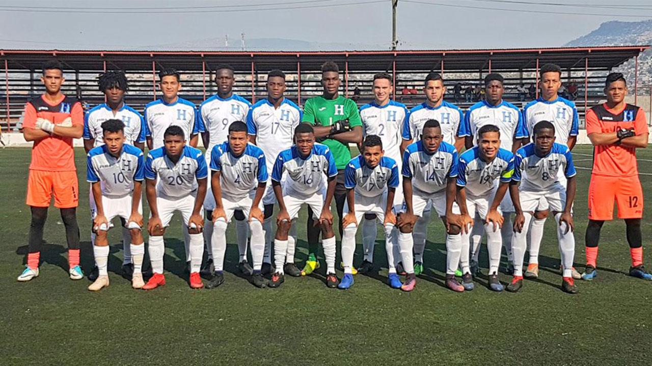 Confirman partidos amistosos de la Selección Sub-20 de Honduras en Europa