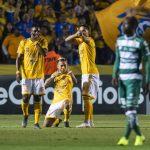 Tigres golea a Santos y acaricia final de la Concacaf (VÍDEO)