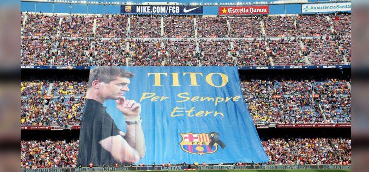 Se cumplen cinco años de la muerte de Tito Vilanova