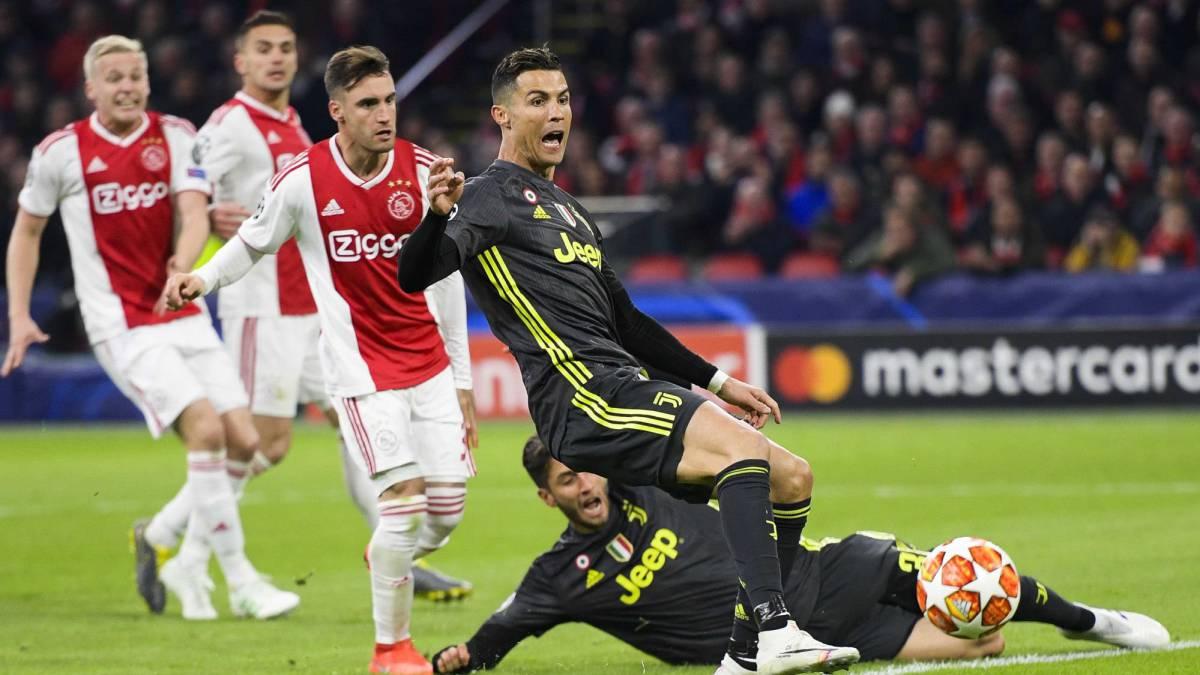 La Juventus y Cristiano Ronaldo buscará el pase a semifinales ante Ajax