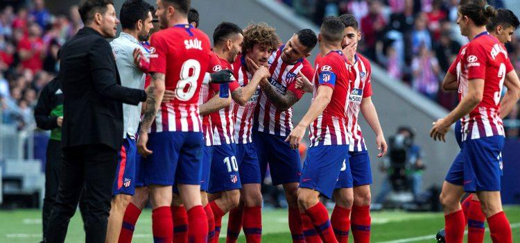 El Atlético no falla ante un Celta que podría descender