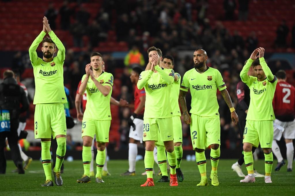 Barcelona con todo ante el Manchester United