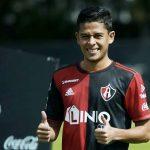 Cristian Cálix anota su primer gol con el Atlas (VÍDEO)