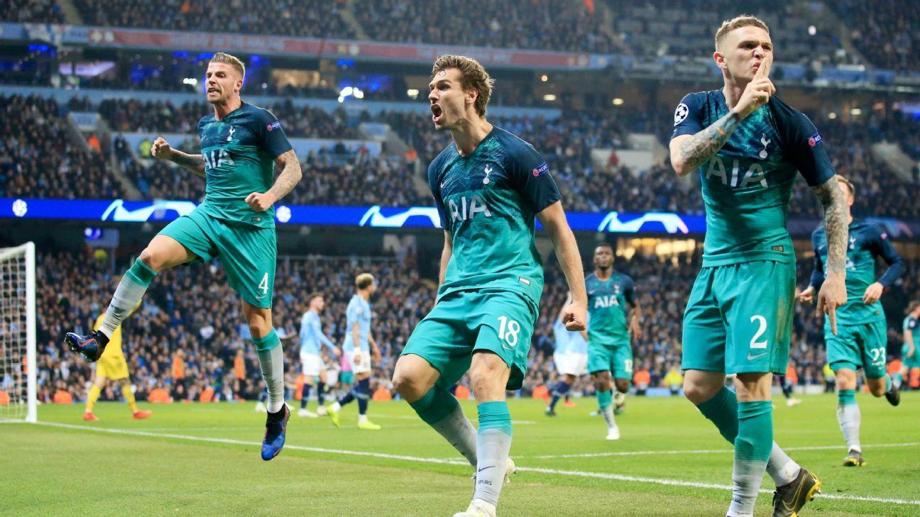 Tottenham elimina al Manchester City y jugará contra el Ajax