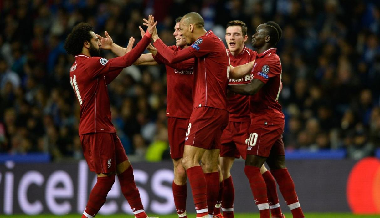 Liverpool vencio a Porto y enfrentará a Barcelona en las semifinales de la Champions League