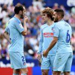 Atlético empata en la despedida de Griezmann, Godín y Juanfran
