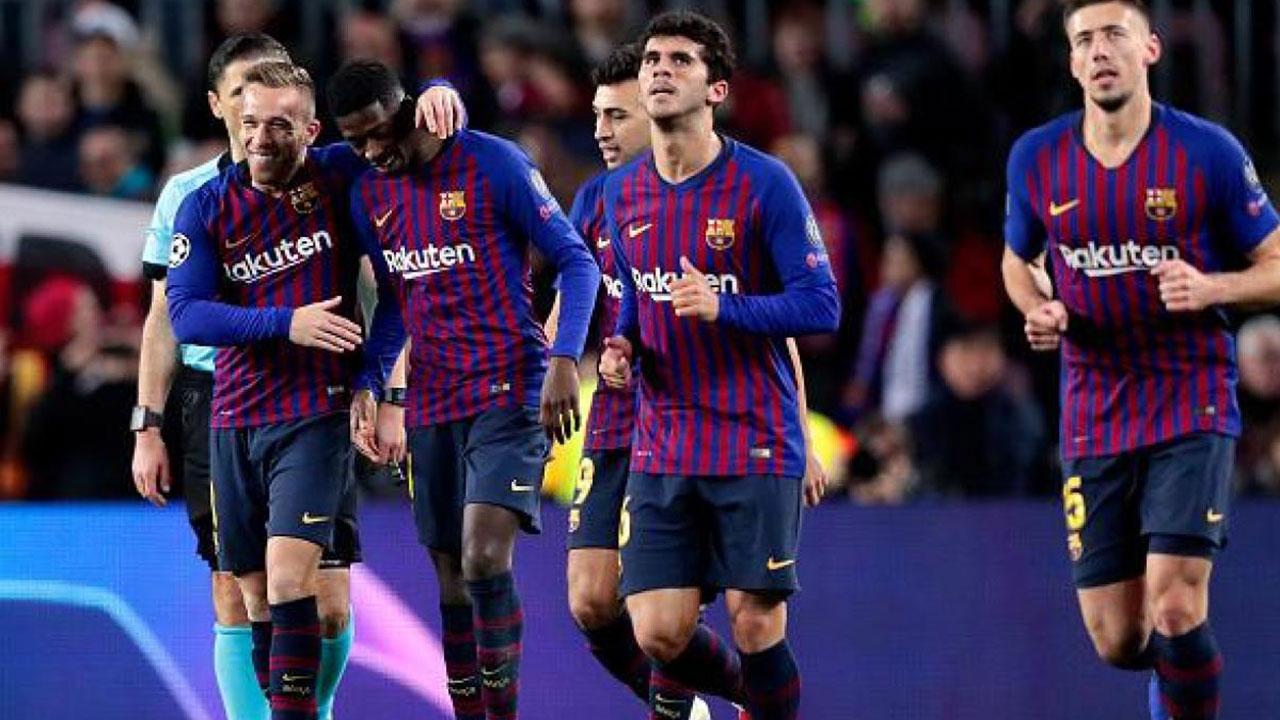 La UEFA multa con 20.000 euros al Barcelona