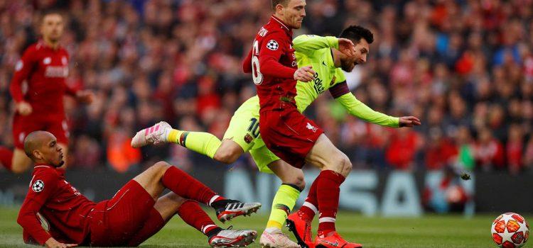 En vivo semifinal Champions League: Liverpool 1-0 Barcelona