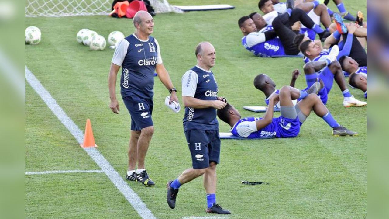 Primera convocatoria de Fabián Coito con la Sub-23 de Honduras