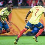 Colombia sorprende a Polonia y deja buena imagen en su debut mundialista