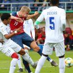 ¡Ridículo! Honduras recibe de Noruega la peor goleada del Mundial Sub-20 de Polonia