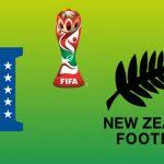 Medio tiempo: Honduras (0) Nueva Zelanda (3)