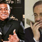 ¡Insiste el Real Madrid! Florentino Pérez contacta al padre de Mbappé