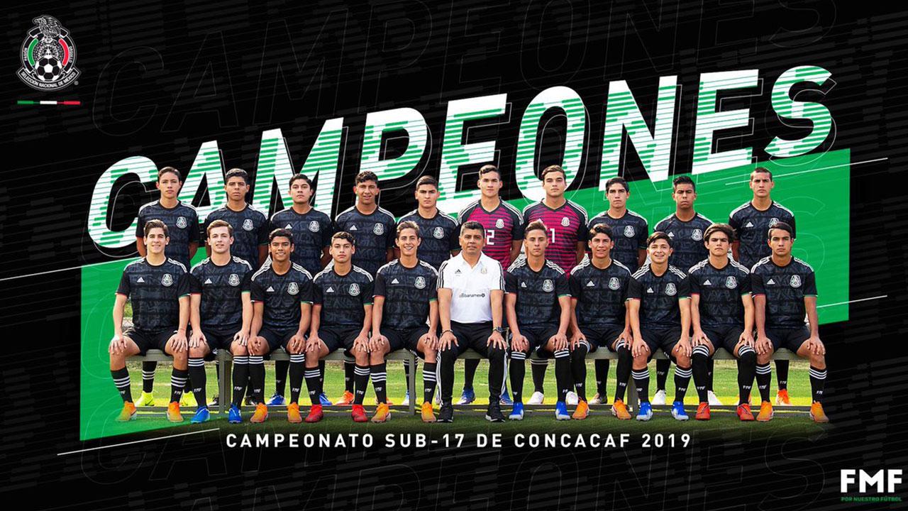 México es tetracampeón del Premundial Sub-17