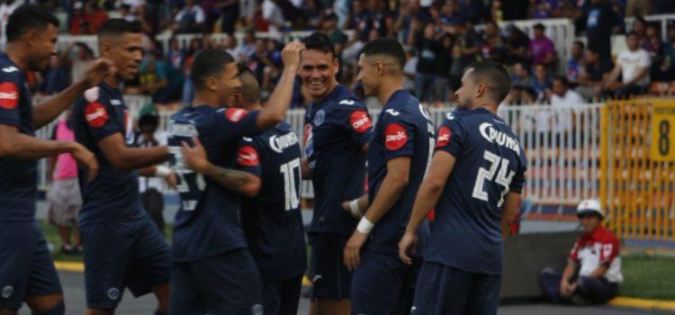 Hat-trick de Roberto Moreira pone a Motagua en semifinales