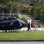 Neymar llega en helicóptero de lujo a la concentración de Brasil (VÍDEO)