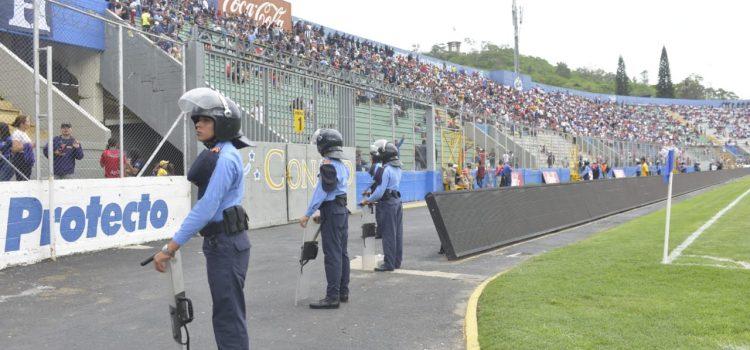 Seguridad máxima en el Estadio Nacional