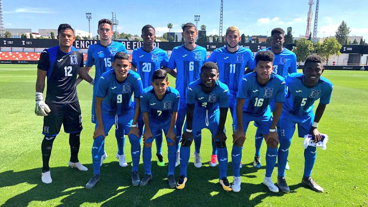 Sub-20 de Honduras pierde su segundo amistoso previo al Mundial
