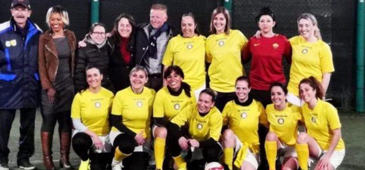 El Vaticano conformó su primer equipo femenino de fútbol para jugar en Italia