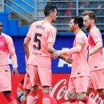 Barcelona empata con el Eibar en la última jornada de la liga española