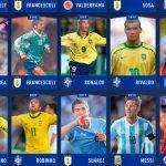 Amado Guevara, entre los mejores jugadores de la Copa América