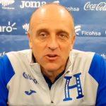 Fabián Coito lamenta la pobre presentación de Honduras ante Brasil